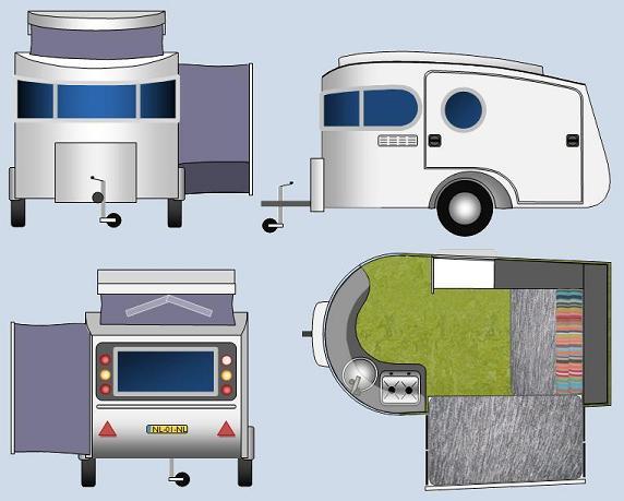 Eigen caravan bouwen for Eigen keuken bouwen